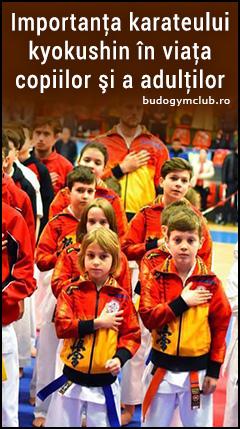 Importanţa karateului kyokushin în viaţa copiilor şi a adulţilor